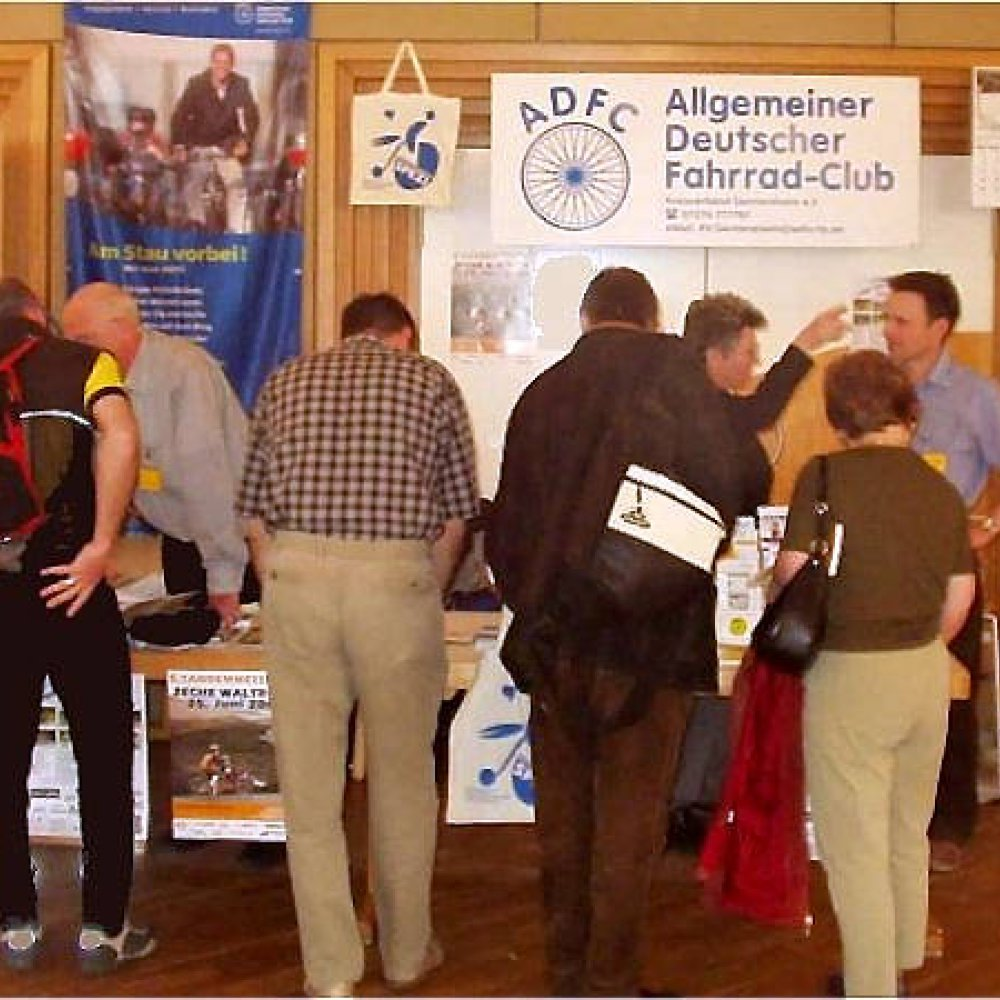 ADFC-Messestand 2006