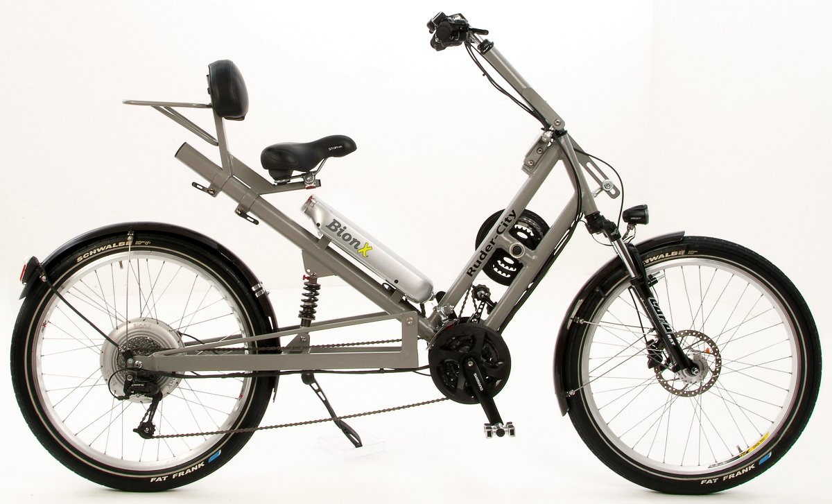 Ruder City E-Bike